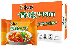 Master Kong Spicy Beef Noodle 1 Box / 30 packs