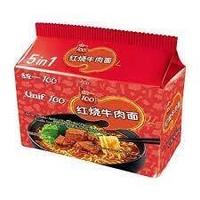 Unif Noodle - Roasted Beef (108gx5)