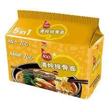 Unif Noodle - Stewed Pork Chop (105gx5)