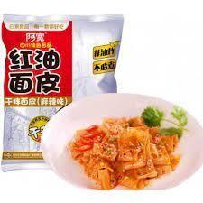 BJ Sichuan Broad Noodles -Spicy 120g
