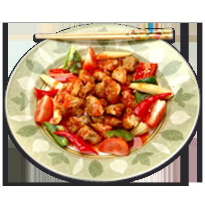 Vegan Ku Loh Meat ( Sweet Sour Pork ) 500g