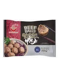 Authentic Beef Balls 360g