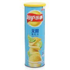 Lays Potato Chips - Lemon Flavour 104g