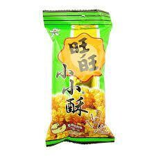 Want Want Small Cracker Chicken Flavour 18g