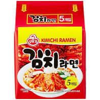 Ottogi Kimchi Ramen 120g x 5