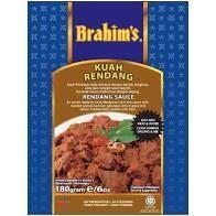 Brahim's Rendang Sauce 180g