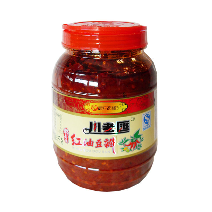 CLH Broad Bean Paste Hot 500g