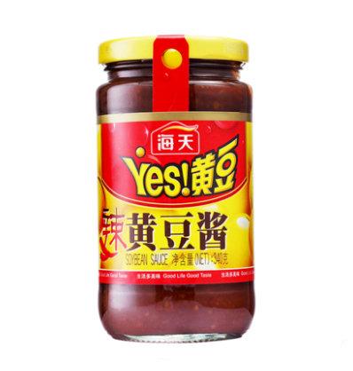 HT Hot Soybean (Yellow Bean) Sauce - Spicy 340g