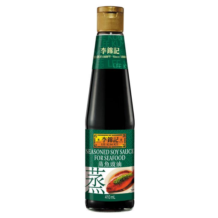 李锦记蒸鱼豉油 LKK Soy Sauce for Seafood 410ml