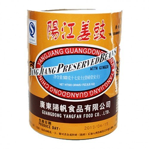 Yang Jiang Salted Black Bean & Ginger 500g