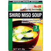 S&B Shiro Miso Soup 30g