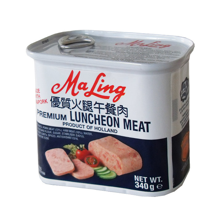 Ma Ling Luncheon Meat (Square) 340g