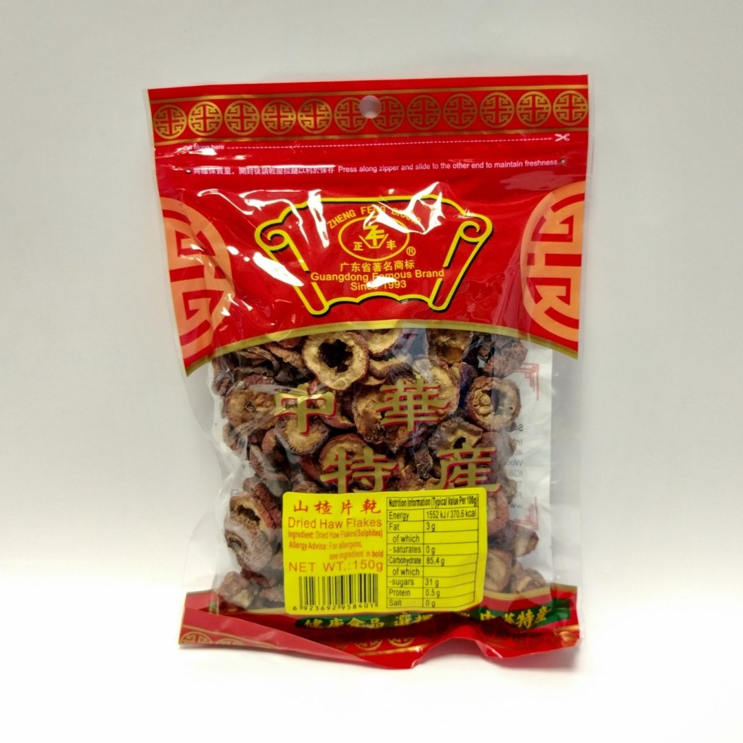 ZF Dried Haw Flakes 150g