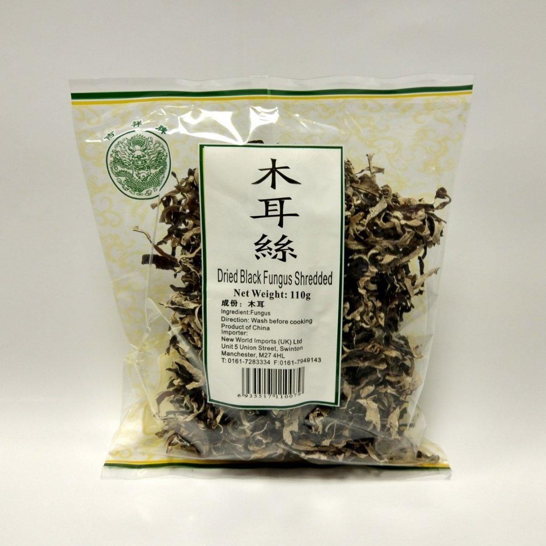 吉祥木耳丝 JX Dried Black Fungus Shredded 110g