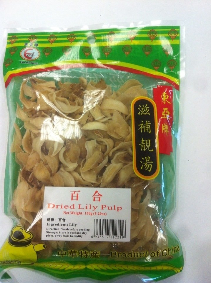 EA Dried Lily Pulps 150g