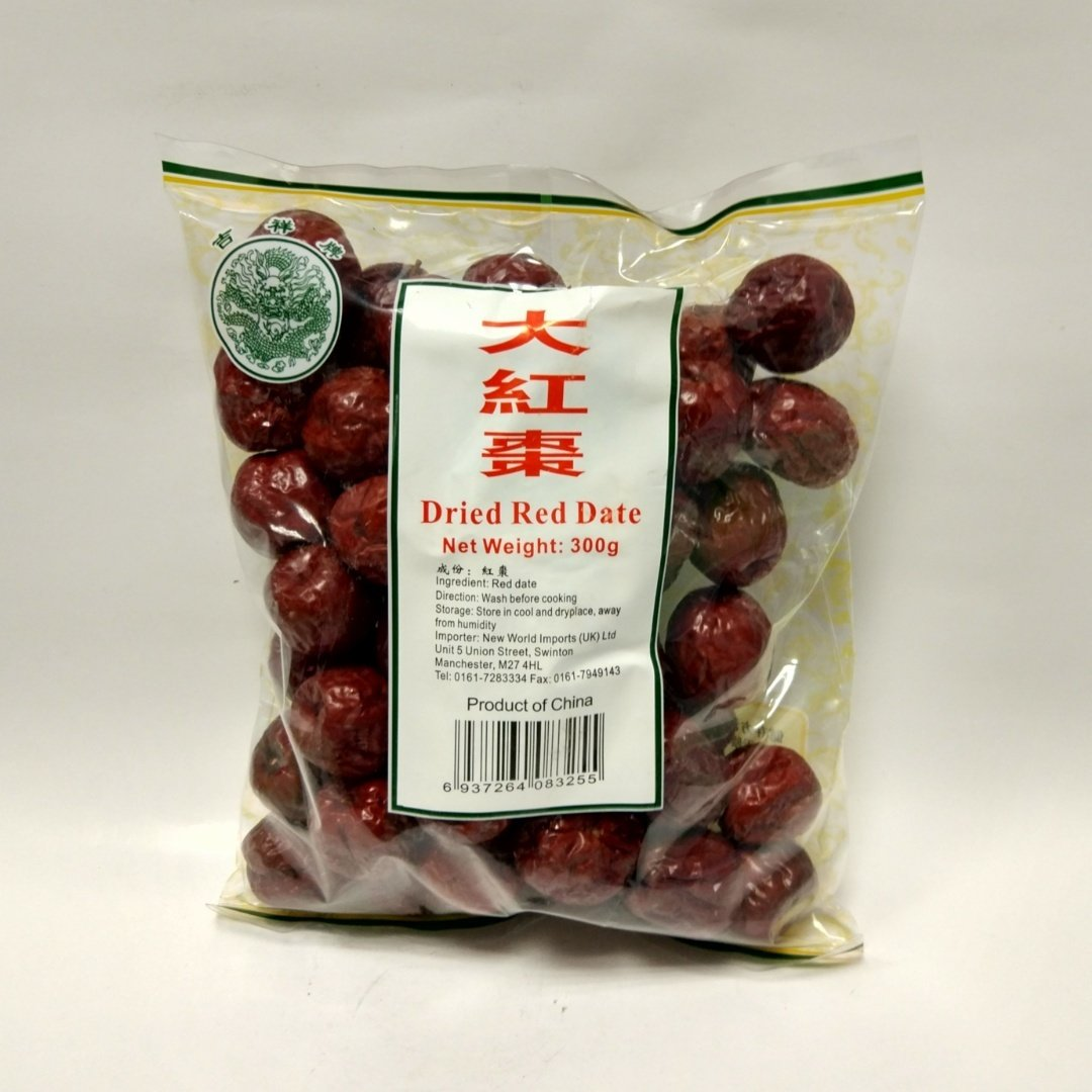 JX Dried Red Date 300g