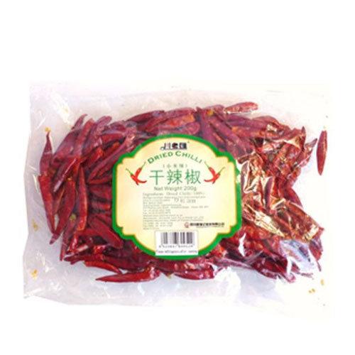 川老汇干辣椒(小米椒) Chuanlaohui Dried Chilli (Long) 200g