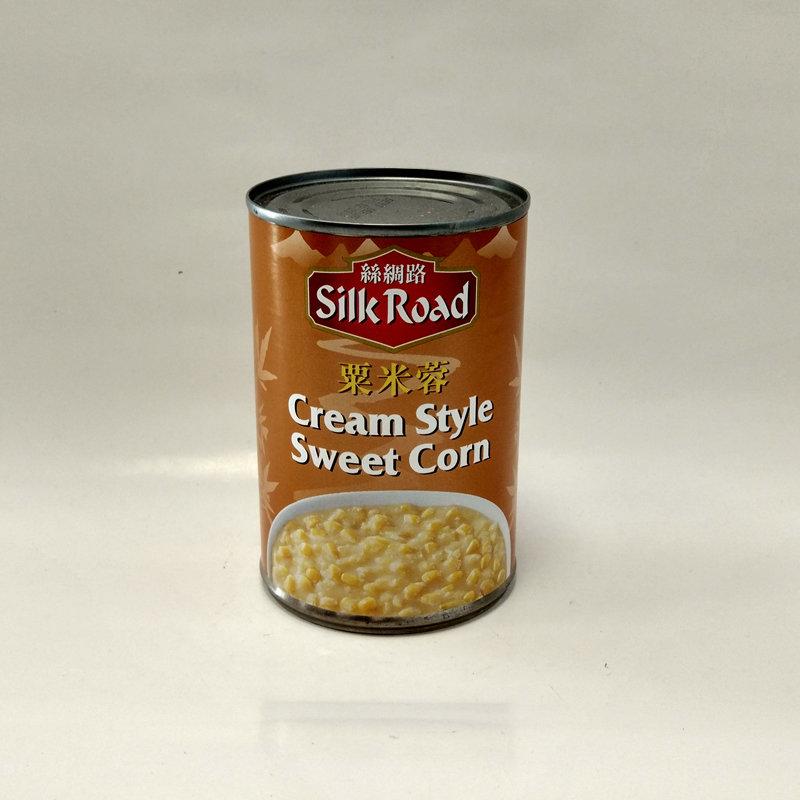 Silk Road Cream Style Sweet Corn 425g