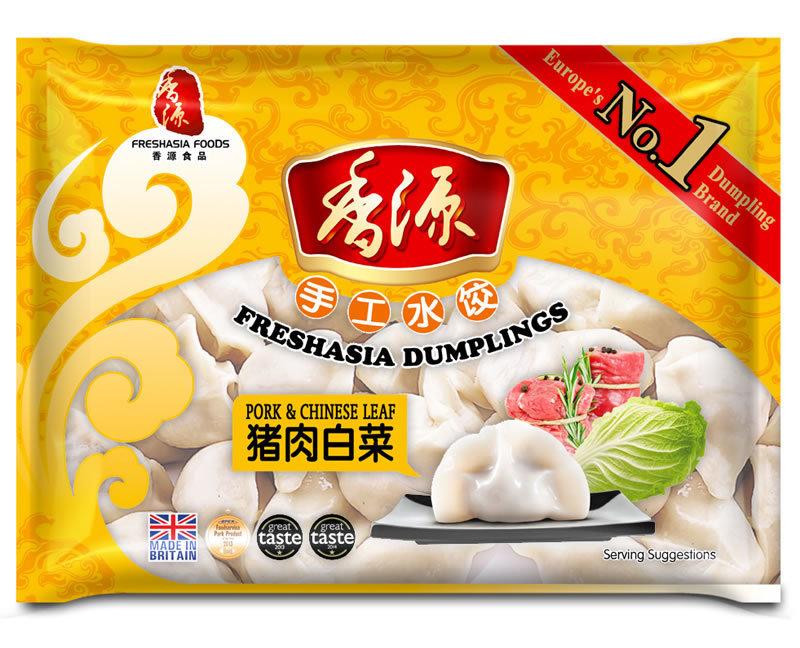 香源猪肉白菜水饺 FA Pork & Chinese Leaf Dumplings 400g