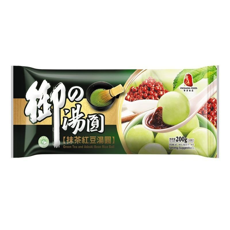 FA Green Tea & Adzuki Bean Rice Ball 200g
