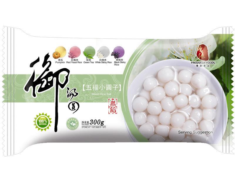 Fresh Asia Mini Rice Ball Mixed Flavor 300g