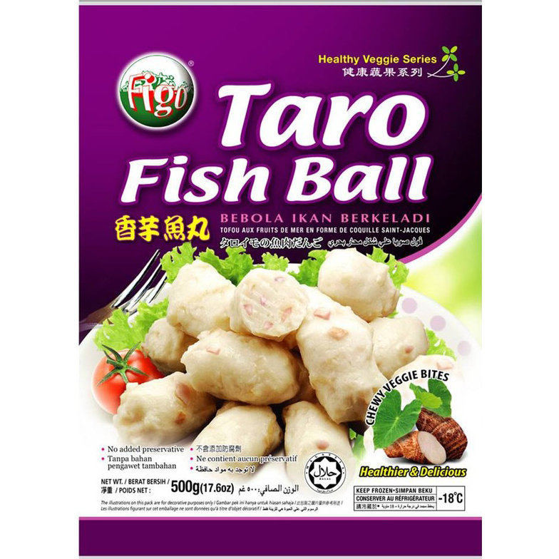 飞哥香芋鱼丸 Figo Taro Fish Balls 500g