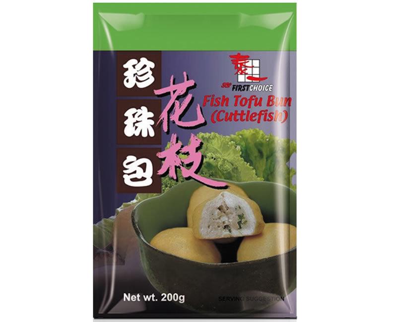 First Choice Fish Tofu Bun - Cuttlefish 200g
