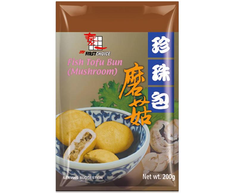 泰一蘑菇珍珠包 First Choice Fish Tofu Mushroom Bun 200g