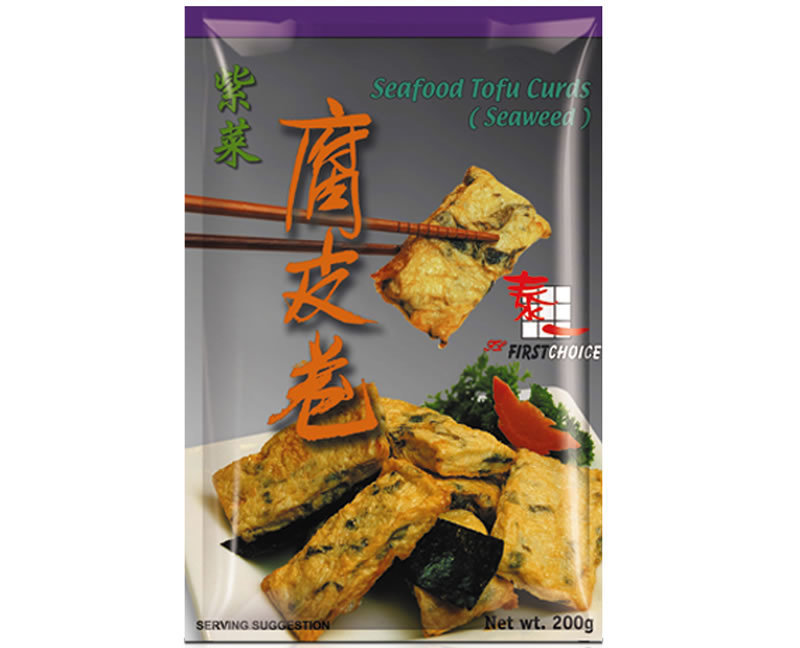 First Choice Seafood Tofu Curd Seaweed 200g