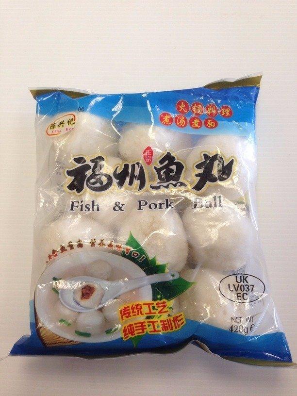 Chen Xing Kee Fuzhou Fish Ball 420g