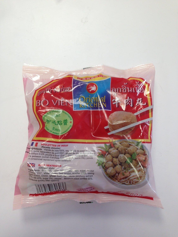 万兴牛肉丸 Oriental Kitchen Beef Meat Balls 250g