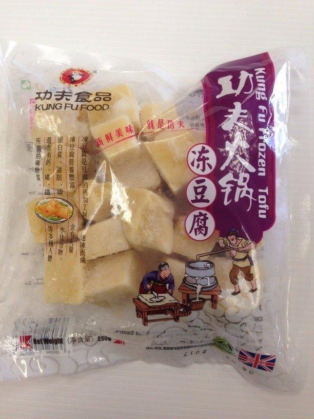 Kung Fu Frozen Tofu 250g