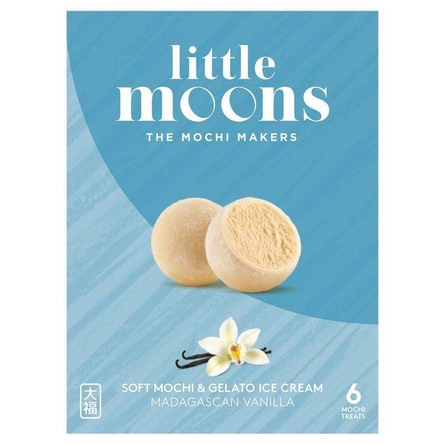 小月亮冰淇淋米糍-香草 Little Moons Vanilla Mochi Ice Cream 6 x 32g