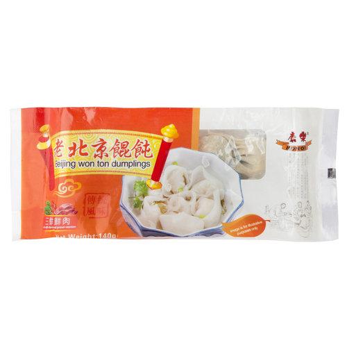 HR Beijing Wonton - Pork with Prawns & Chives 140g