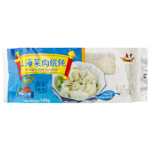 Honor Shanghai Dumplings Pork With Bok Choy 140g