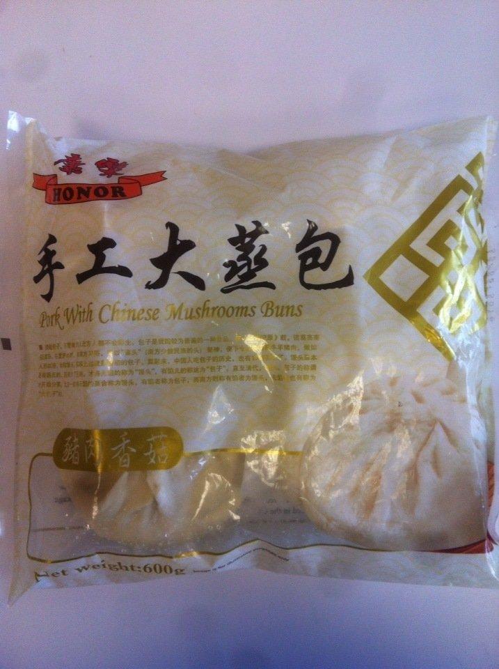 康乐手工大蒸猪肉香菇 Honor Pork with Chinese Mushroom Buns 600g