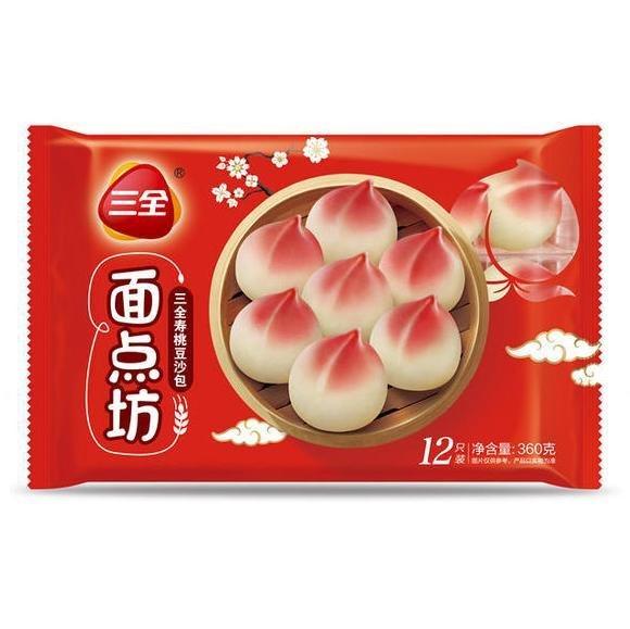 SQ Red Bean Paste Bun 360g