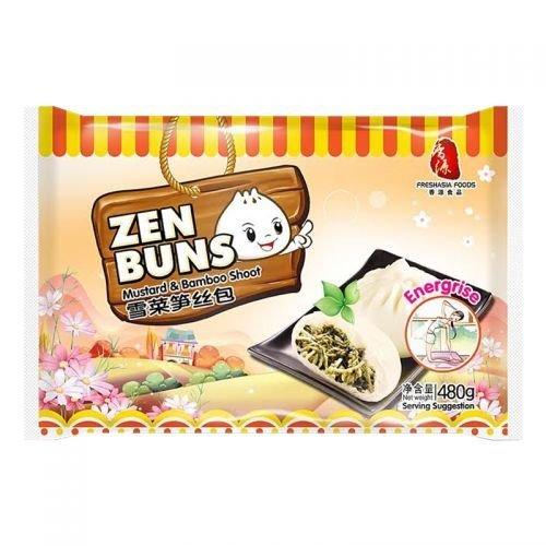Fresh Asia Mustard & Bamboo Shoot Buns 480g