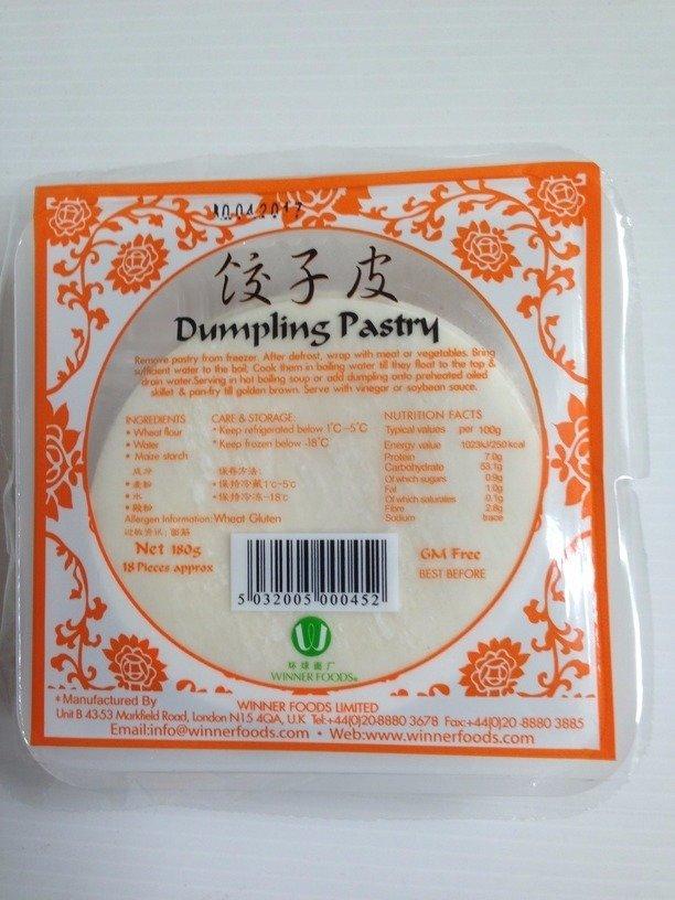 环球饺子皮 Winner Foods Dumpling Pastry 180g