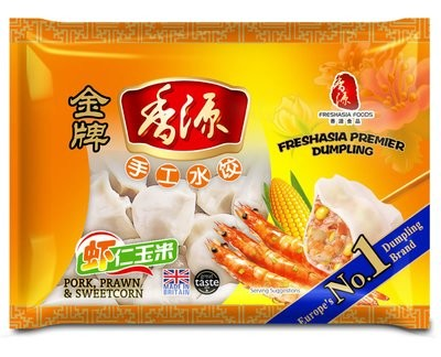 Fresh Asia  Pork with Prawn & Sweetcorn Dumplings 400g