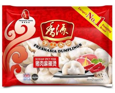 Fresh Asia Sichuan Spicy Pork Dumplings 400g