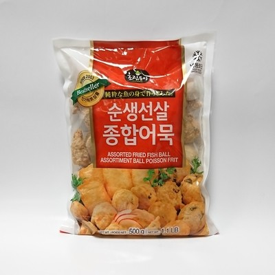 ChoripDong Assorted Fried Fish Ball 500g