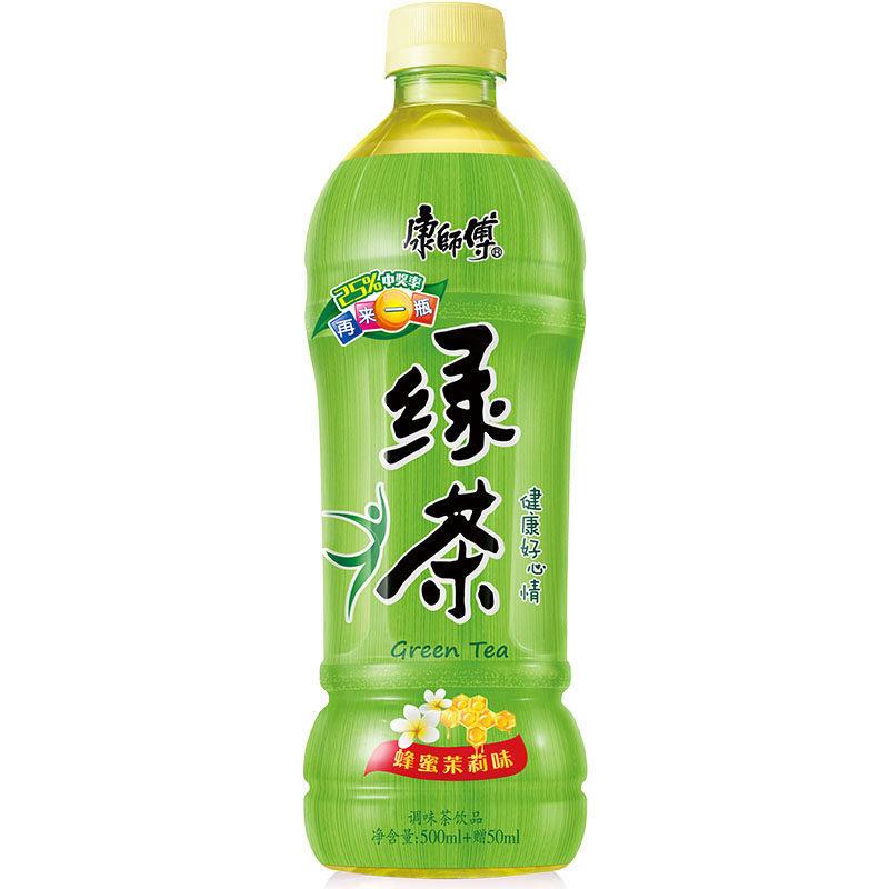 康师傅绿茶 Master Kong Green Tea Low Sugar 500ml