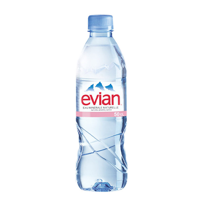 Evian Natural Spring Water 500ml