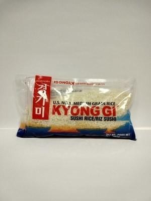 Kyong Gi Medium Grain Rice 907g