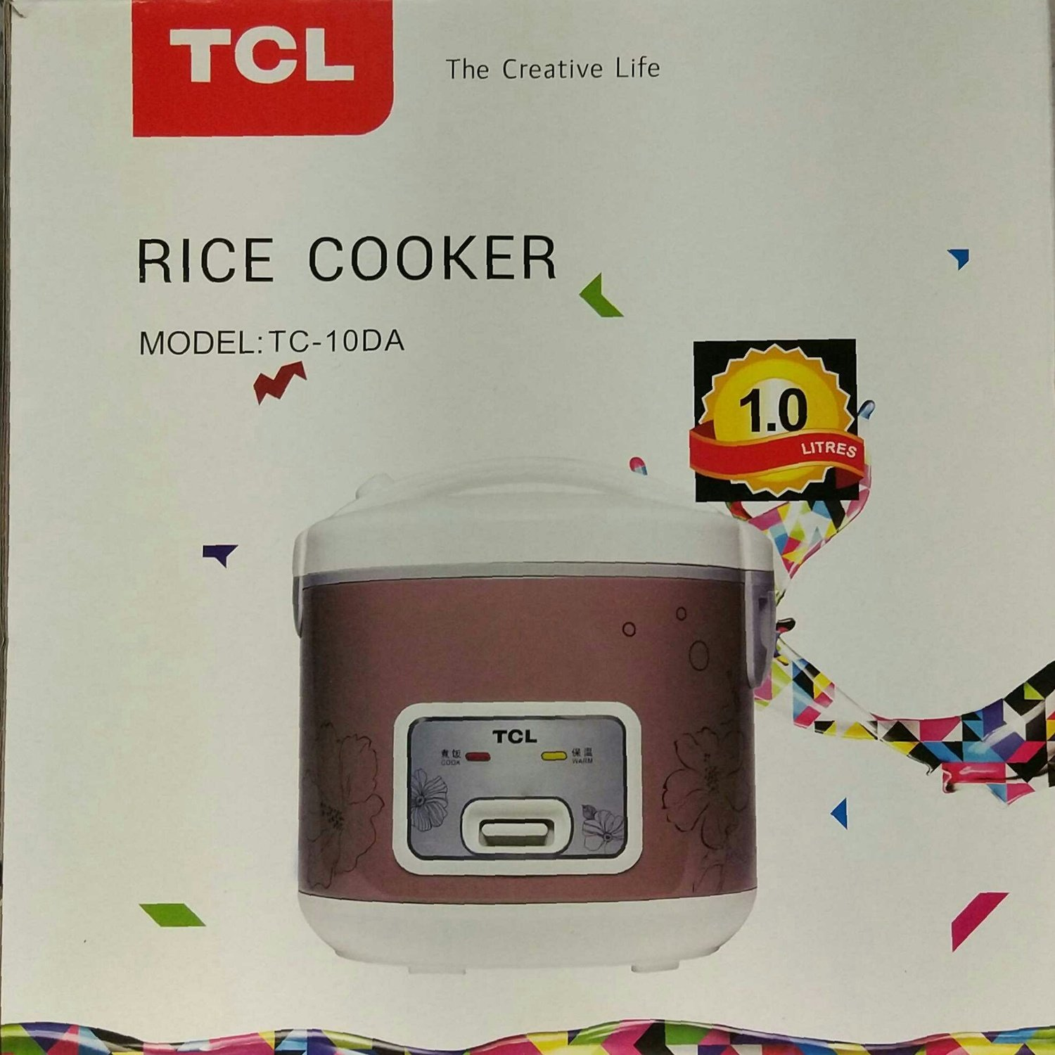 TCL Rice Cooker 1.8L