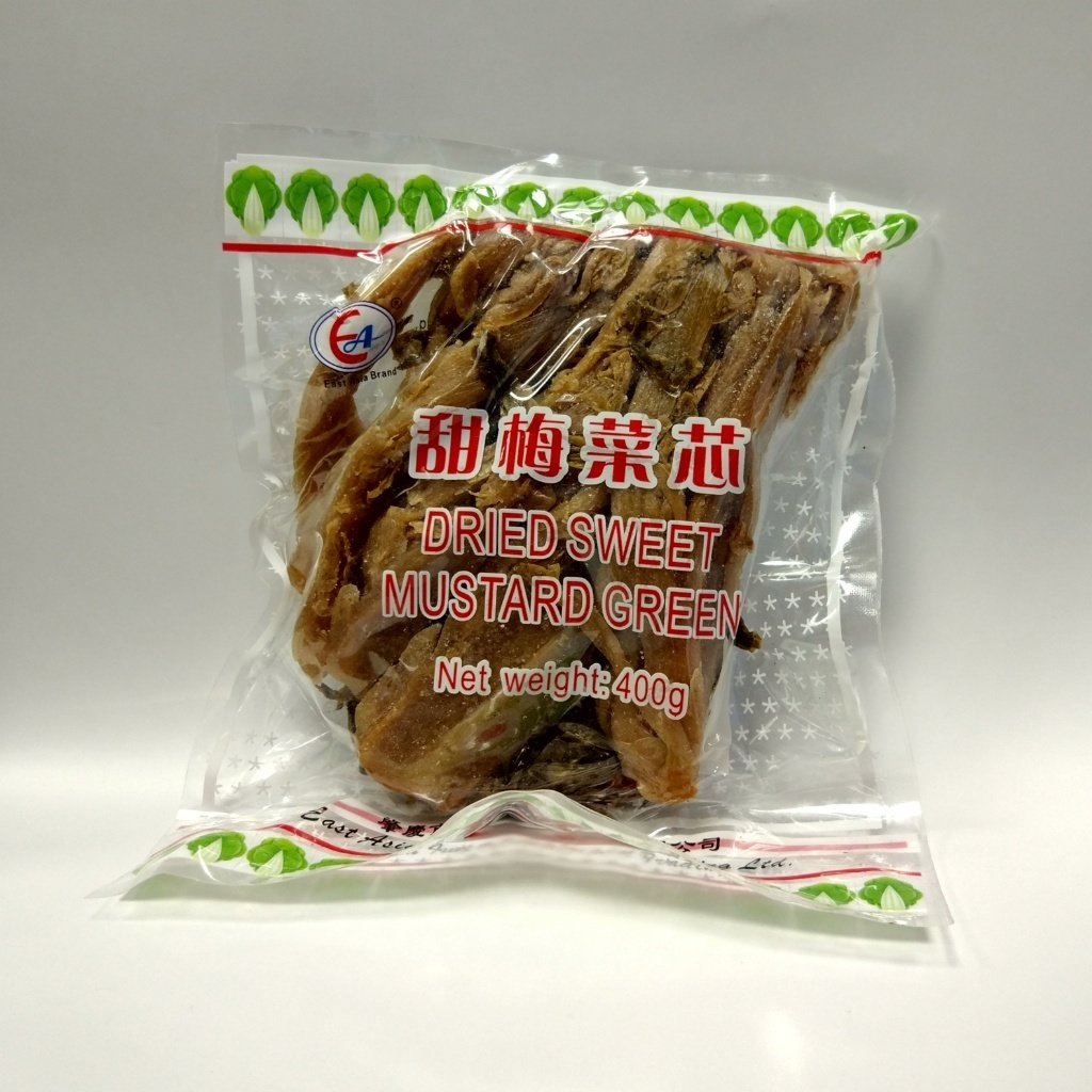 东亚甜梅菜芯 EA Dried Sweet Mustard Green 400g