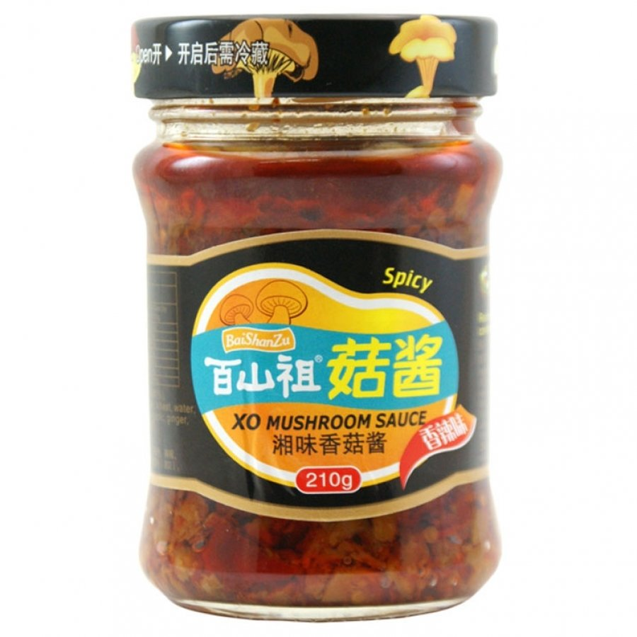 BSZ Spicy XO Mushroom Sauce 210g