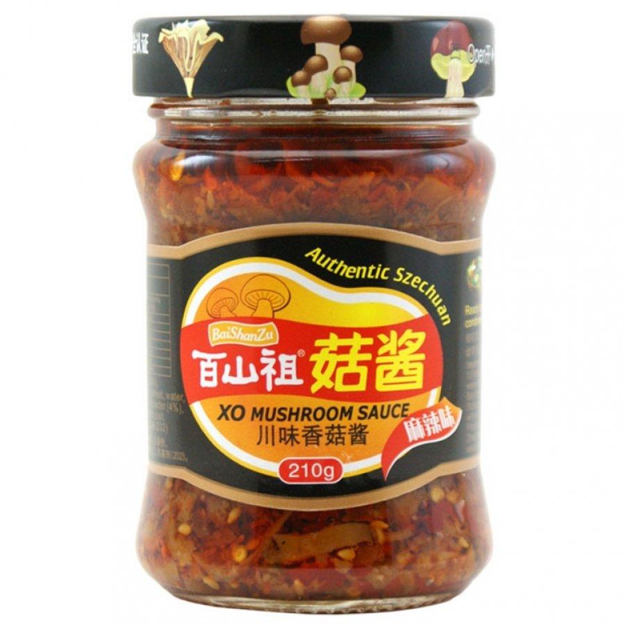 BSZ Szechuan XO Mushroom Sauce 210g
