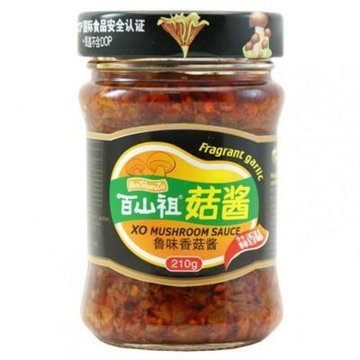 BSZ XO Mushroom Sauce Garlic 210g